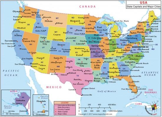 Важнейшие города США