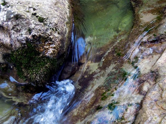 Очистка найденной воды